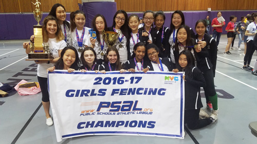 2016 2017 Season In Review For Girls Fencing